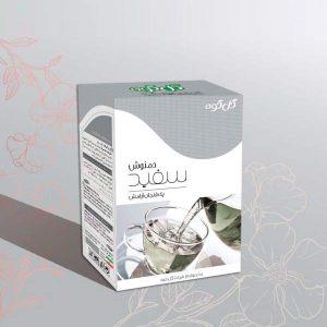 چای سفید ( گرانول ۵۰ گرمی ) گل کوه
