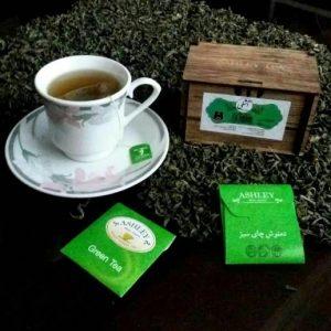باکس دمنوش چای سبز