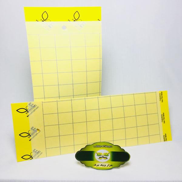 چسب حشره کش(کارت زرد)