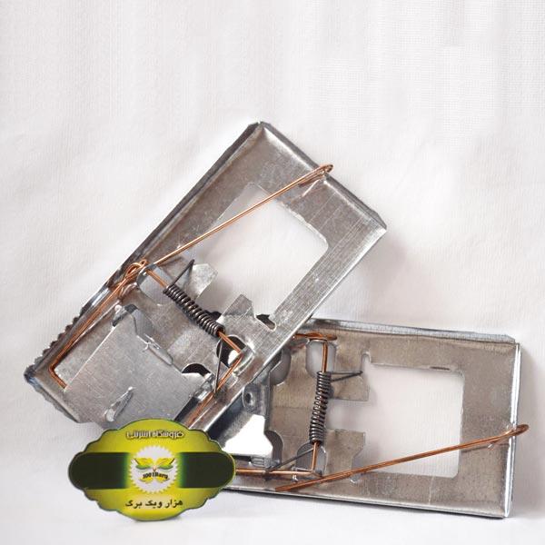 تله موش آهنی مدل تخته ای
