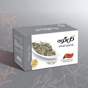 دمنوش صددرصد طبیعی چای سفید گل کوه ( ۲۰ عددی )
