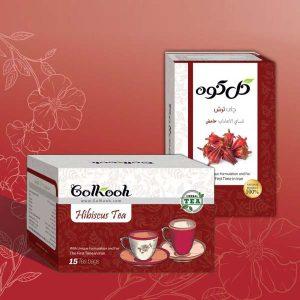 دمنوش صددرصد طبیعی چای تـرش گل کوه ( ۱۵ عددی )